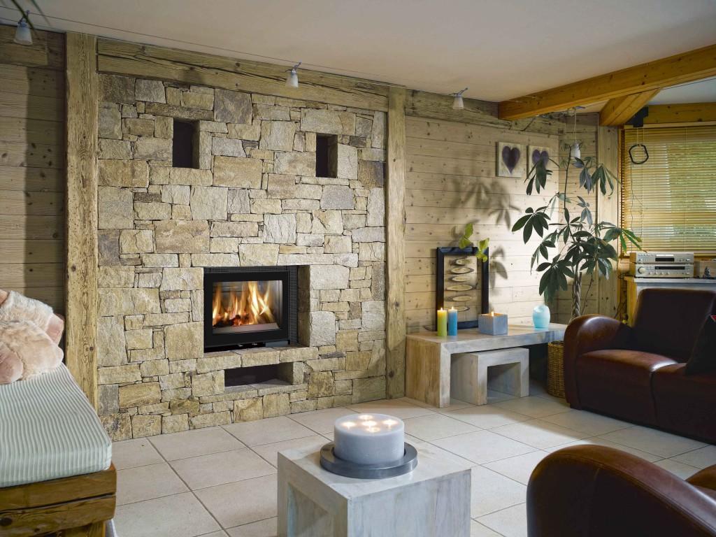 insert de cheminée Wodtke V habillage design Kit grilles ambiance