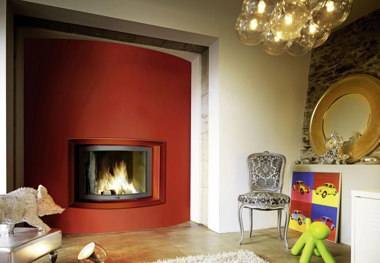 cheminee habillage pierre. Black Bedroom Furniture Sets. Home Design Ideas